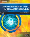 Lab Manual for Security+ Guide to Network Security Fundamentals, 5th  0 edition cover