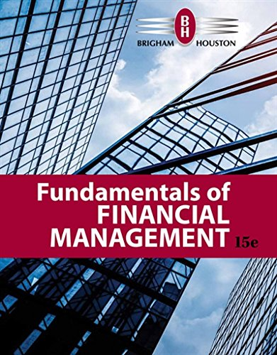Fundamentals of Financial Management:   2018 9781337395250 Front Cover