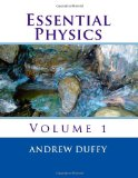 Essential Physics, Volume 1  N/A edition cover