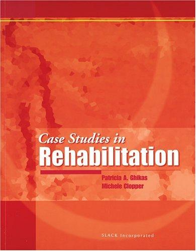 Case Studies in Rehabilitation   2001 edition cover