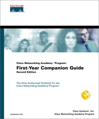 Cisco Networking Academy Program First-Year Companion Guide 2nd 2001 edition cover