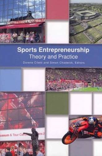 Sports Entrepreneurship: Theory and Practice  2012 edition cover