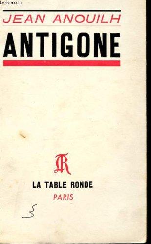 Antigone 1st 9782710300250 Front Cover