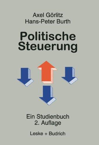 Politische Steuerung: Ein Studienbuch  1998 edition cover