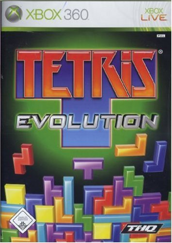 Tetris Evolution Xbox 360 artwork