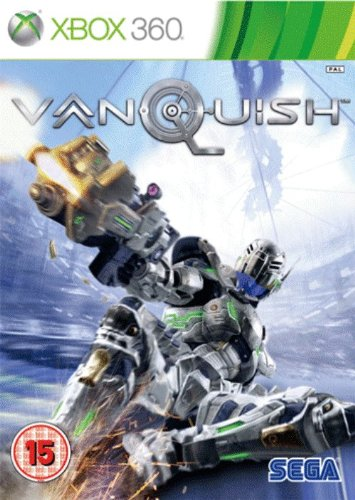 Vanquish (Xbox 360) Xbox 360 artwork