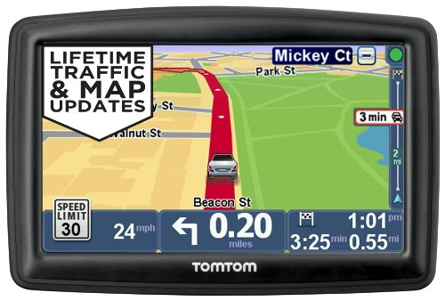 TomTom START 55TM 5-Inch GPS Navigator with Lifetime Traffic & Maps and Roadside Assistance product image