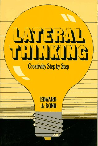 Lateral Thinking Creativity Step by Step  1990 edition cover
