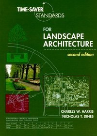 Time-Saver Standards for Landscape Architecture   1988 edition cover