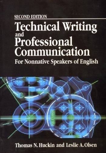 Technical Writing and Professional Communication for Non-Native Speakers 2nd 1991 edition cover