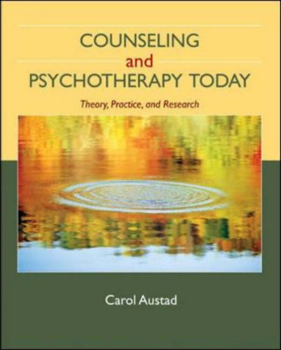 Counseling and Psychotherapy Today   2009 edition cover