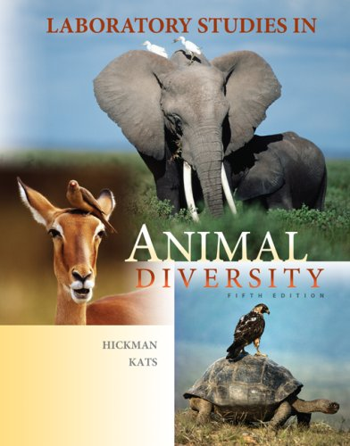 Laboratory Studies in Animal Diversity  5th 2009 edition cover