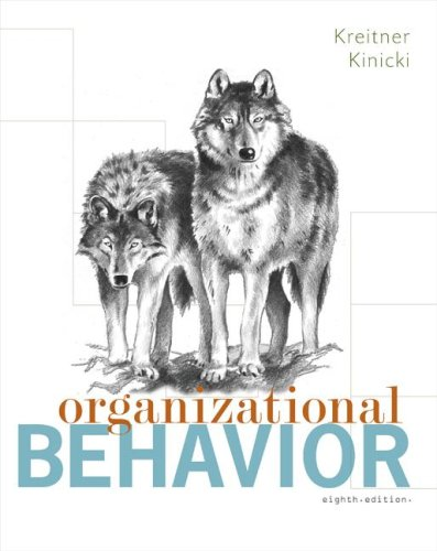 Organizational Behavior  8th 2008 (Revised) edition cover