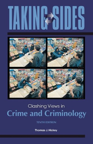 Crime and Criminology  10th 2012 edition cover