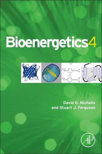 Bioenergetics  4th 2013 edition cover
