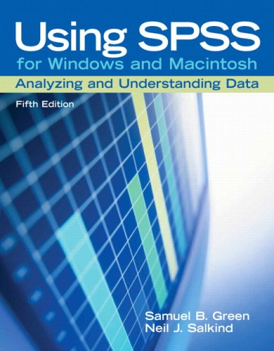 Using SPSS for Windows and Macintosh Analyzing and Understanding Data 5th 2008 (Revised) edition cover