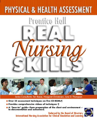 Prentice Hall Real Nursing Skills Physical and Health Assessment  2006 edition cover
