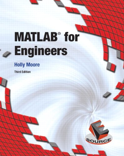 MATLAB for Engineers  3rd 2012 (Revised) edition cover