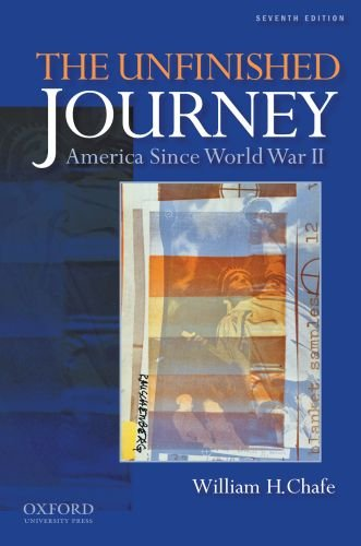 Unfinished Journey America since World War II 7th 2011 edition cover