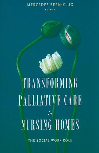 Transforming Palliative Care in Nursing Homes The Social Work Role  2010 9780231132251 Front Cover