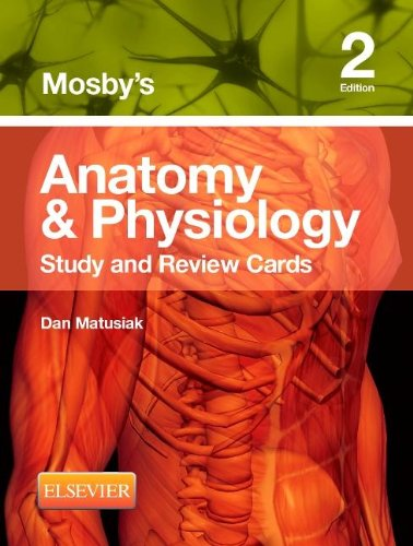 Mosby's Anatomy and Physiology Study and Review Cards  2nd edition cover