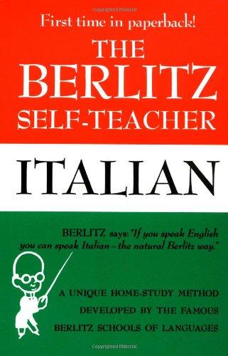 Berlitz Self-Teacher: Italian Italian N/A 9780399513251 Front Cover