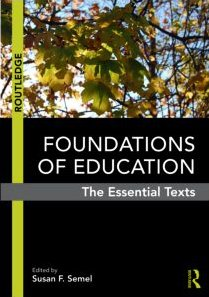 Foundations of Education The Essential Texts  2010 edition cover