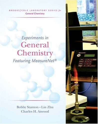 Experiments in General Chemistry Featuring MeasureNet  2006 (Revised) 9780495019251 Front Cover