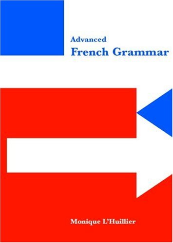 Advanced French Grammar   1999 edition cover