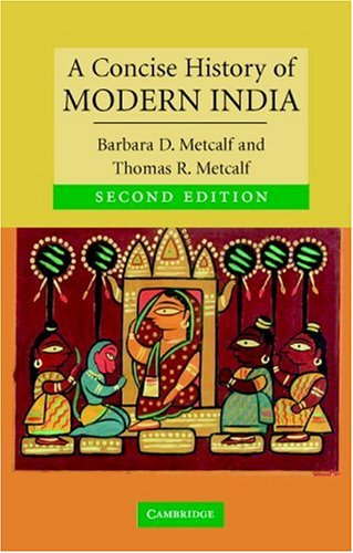 Concise History of Modern India  2nd 2006 (Revised) edition cover