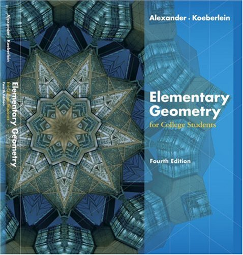 Elementary Geometry for College Students  4th 2007 edition cover