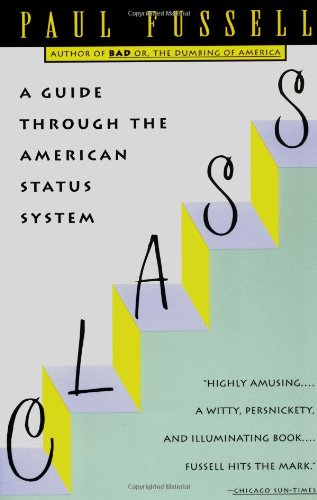 Class A Guide Through the American Status System  1992 edition cover