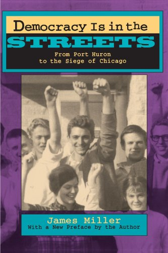 Democracy Is in the Streets From Port Huron to the Siege of Chicago  1994 edition cover