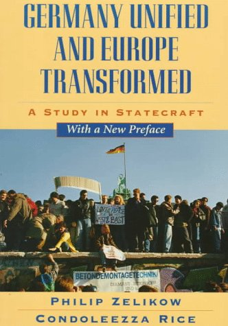 Germany Unified and Europe Transformed A Study in Statecraft  1997 edition cover