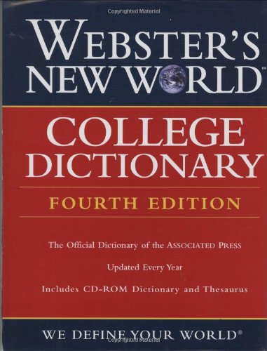 College Dictionary  4th 2009 (Revised) edition cover