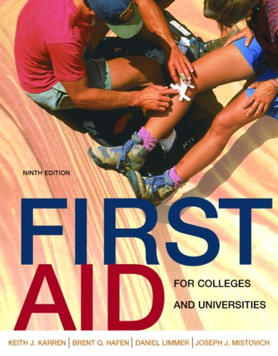 First Aid for Colleges and Universities  9th 2008 edition cover