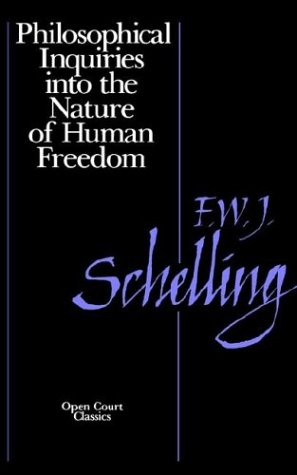 Philosophical Inquiries into the Nature of Human Freedom   1992 edition cover