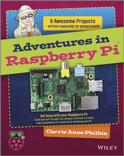Adventures in Raspberry Pi   2013 edition cover
