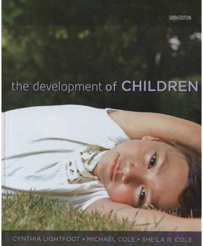 Development of Children  6th 2009 (Revised) edition cover