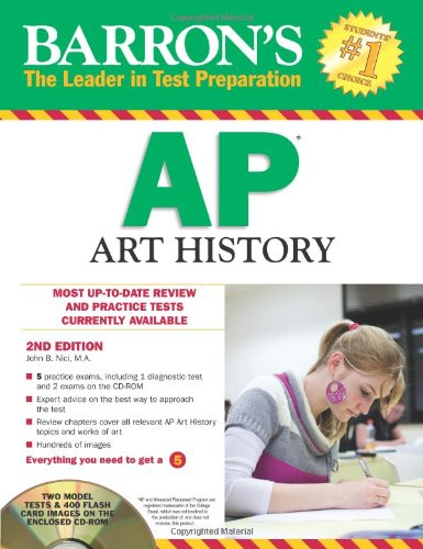 Barron's AP Art History with CD-ROM, 2nd Edition  2nd 2012 (Revised) edition cover