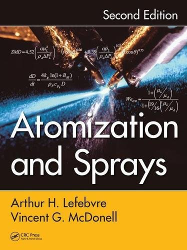 Cover art for Atomization and Sprays, 2nd Edition