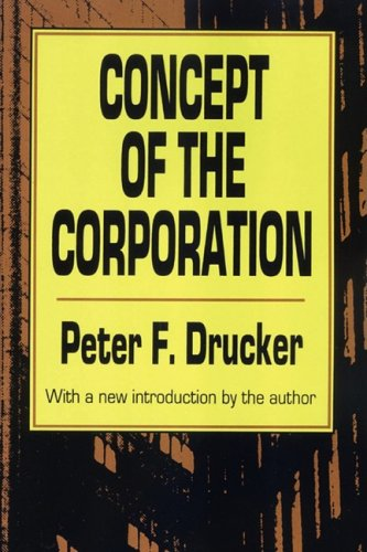 Concept of the Corporation  Revised edition cover