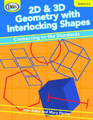 2D+3D GEOMETRY W/INTERLOCKING SHAPES    N/A edition cover