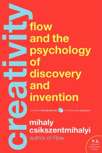 Creativity Flow and the Psychology of Discovery and Invention  2013 edition cover