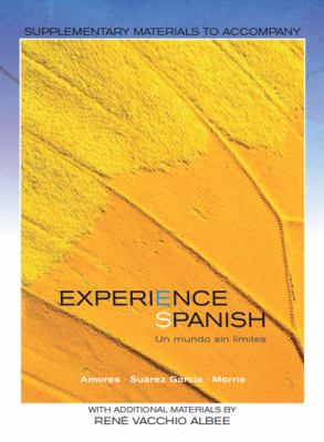Experience Spanish   2011 9780078040252 Front Cover