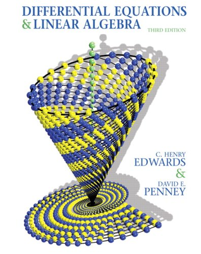 Differential Equations and Linear Algebra  3rd 2010 9780136054252 Front Cover