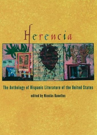 Herencia The Anthology of Hispanic Literature of the United States  2003 edition cover
