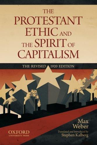 Protestantische Ethik und der Geist des Kapitalismus   2011 edition cover
