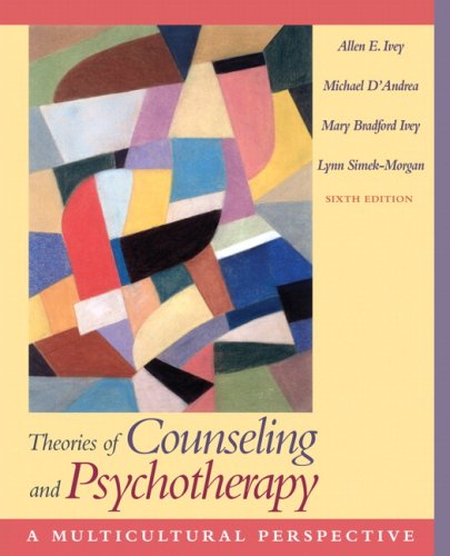 Theories of Counseling and Psychotherapy A Multicultural Perspective 6th 2007 (Revised) edition cover