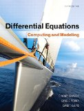 Differential Equations Computing and Modeling 5th 2015 edition cover